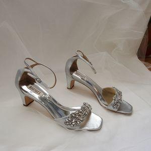 Badgley Mischka Alison Bridal Shoe